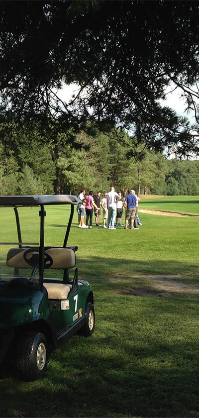 comunchef, événement entreprise - initiation au golf